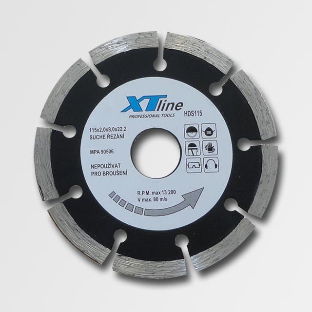 Diamantový kotouč 115 mm segmentový XTline HDS115