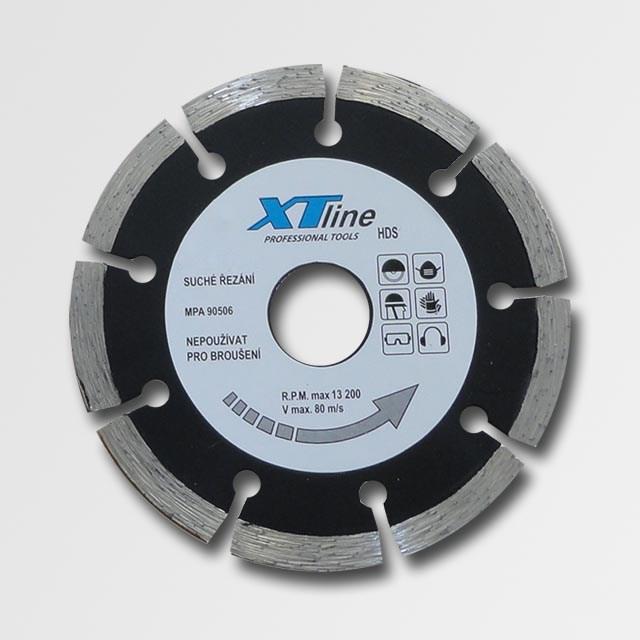Diamantový kotouč 125 mm segmentový XTline HDS125
