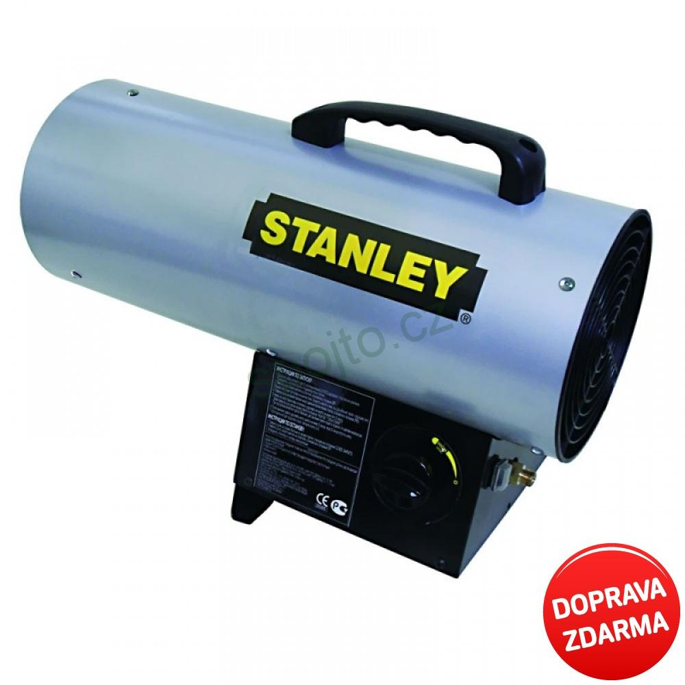 Plynové topidlo STANLEY - ohřívač vzduchu s regulací 12 kW ST 40