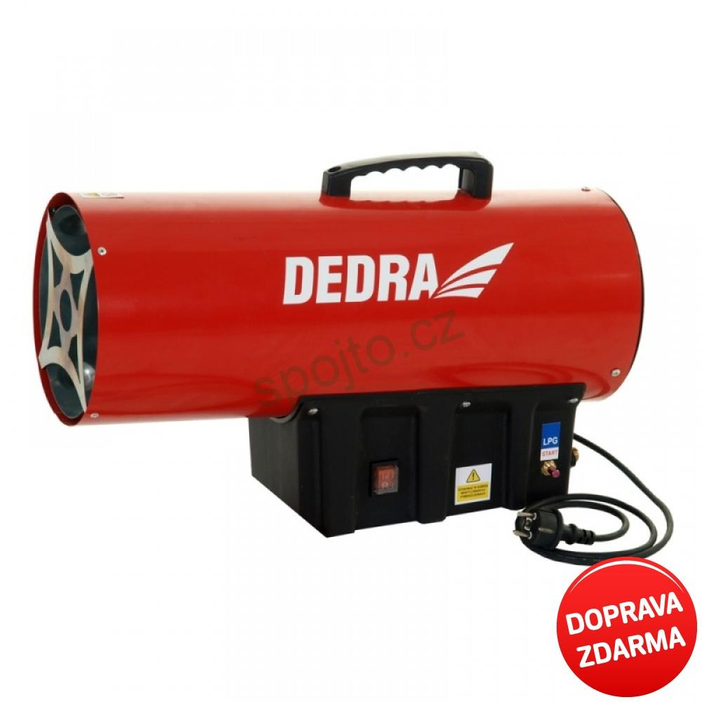 Plynové topidlo DEDRA - ohřívač vzduchu 30 kW DED9943
