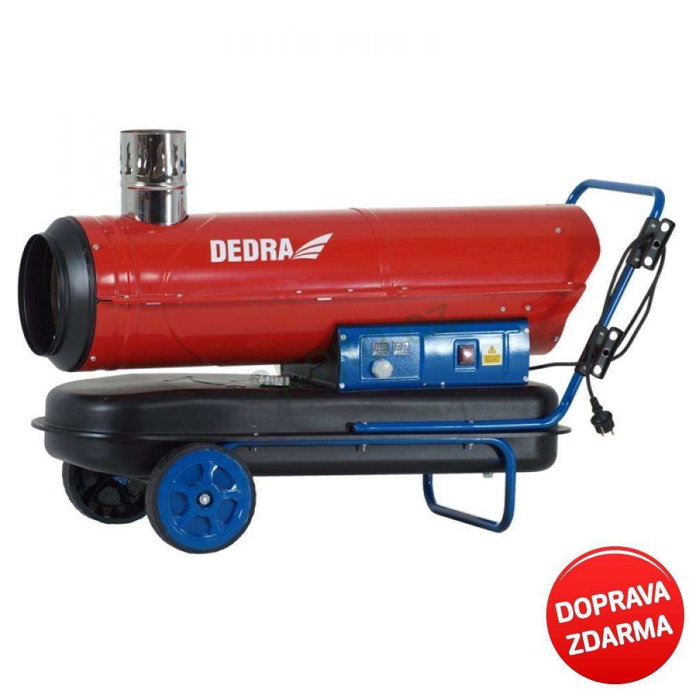 Dedra Ohřívač olejový 30kW s vývodem spalin a termostatem DED995