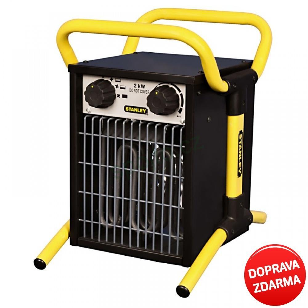 Stanley Elektrické topidlo - ohřívač vzduchu 2 kW ST 02-230-E