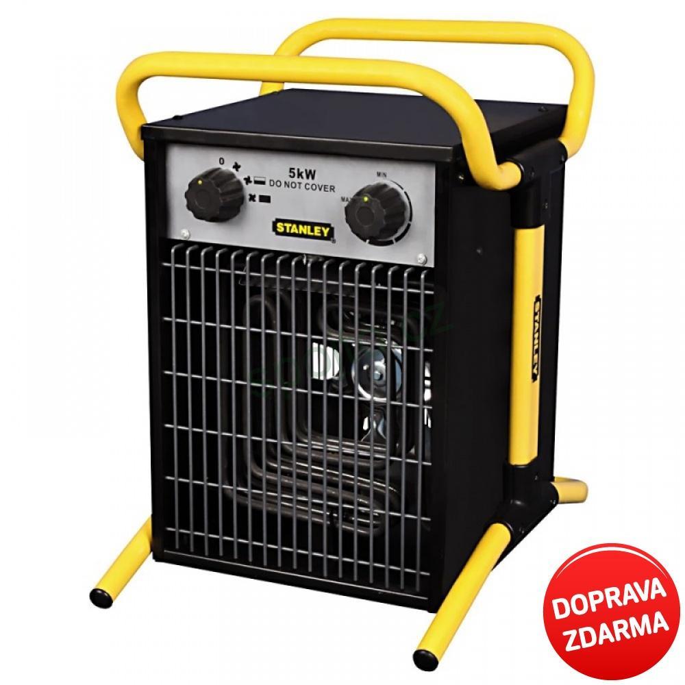 Stanley Elektrické topidlo - ohřívač vzduchu 5 kW ST 05-400-E