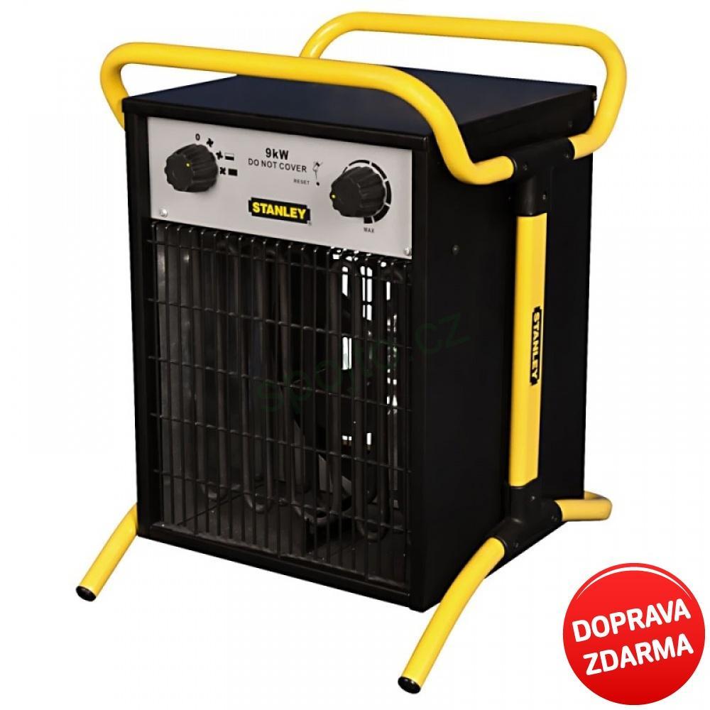 Stanley Elektrické topidlo - ohřívač vzduchu 9 kW ST 09-400-E