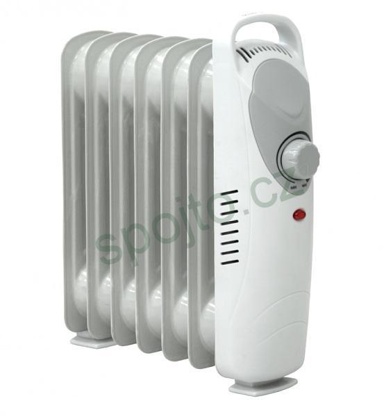Ohřívač olejový radiátor mini Dedra 600W Descon DA-J0600