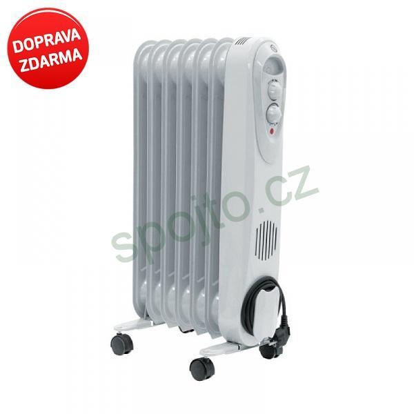 Ohřívač olejový radiátor Dedra 1500W Descon DA-J1500