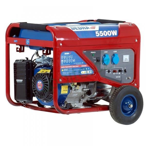 Generátor elektrického proudu 5000 / 5500W DEDRA DEGB6500K
