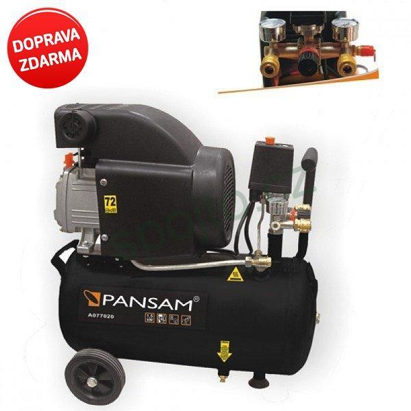 Kompresor olejový 150W / 24 litrů DEDRA A077020 Pansam