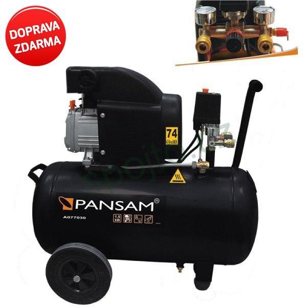 Kompresor olejový 150W / 50 litrů DEDRA A077030 Pansam