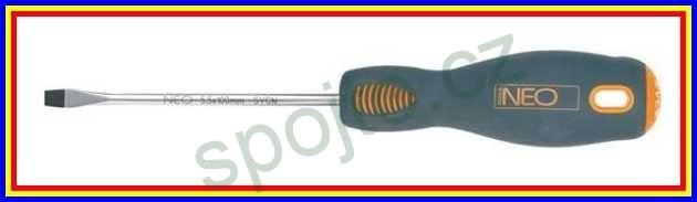 Šroubovák plochý 3x75mm CrMo steel NEO tools