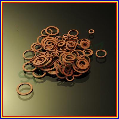 Těsnící kroužky sada FÍBR 105 kusů